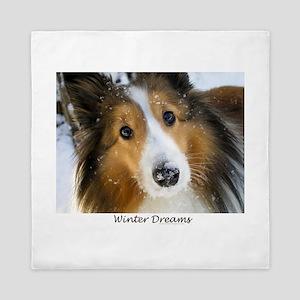 Winter Dreams Queen Duvet