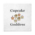 Cupcake Goddess Queen Duvet