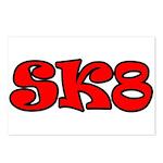 Skater SK8 Postcards (Package of 8)