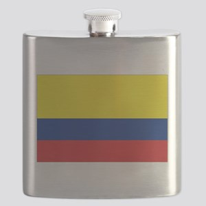Colombia National Flag Flask