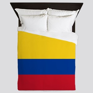 Colombia National Flag Queen Duvet
