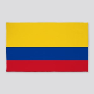 Colombia National Flag 3'x5' Area Rug