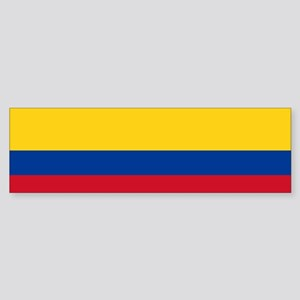 Colombia National Flag Sticker (Bumper)