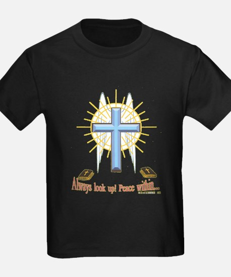 Winged Cross main2.png T-Shirt