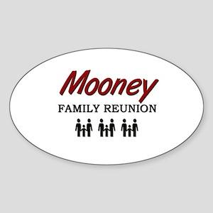 Mooney Family Reunion Oval Sticker