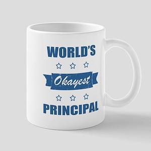 World's Okayest Principal Mugs