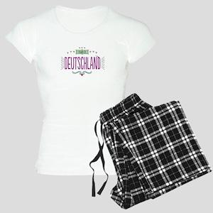 Deutschland Women's Light Pajamas