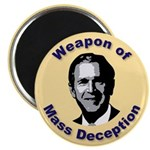 Weapon of Mass Deception Magnet (10 pk)