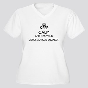 Keep calm and kiss your Aeronaut Plus Size T-Shirt