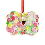 Flower Heart Princess Ornament