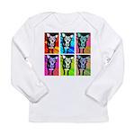 Art Dog Long Sleeve T-Shirt