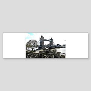 London England Tower Bridge Bumper Sticker