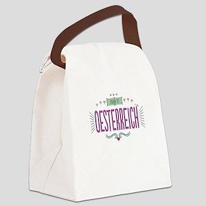 Oesterreich Canvas Lunch Bag