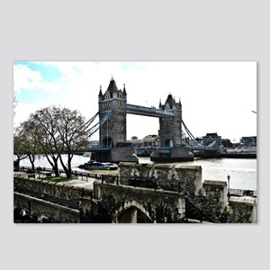London England Tower Brid Postcards (Package of 8)