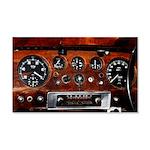 Vintage car radio dashboard instruments Wall Stick