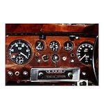 Vintage car radio dashboard instruments Postcards