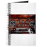 Vintage car radio dashboard instruments Journal
