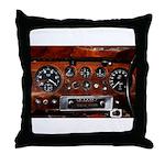Vintage car radio dashboard instruments Throw Pill