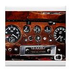 Vintage car radio dashboard instruments Tile Coast