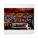 Vintage car radio dashboard instruments Queen Duve