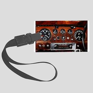 Vintage car radio dashboard instruments Large Lugg