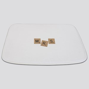 Mrs Scrabble Letters Bathmat