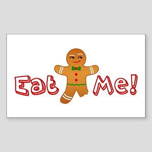 Eat Me Gingerbread Sticker