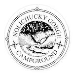 Nolichucky Campground Round Car Magnet