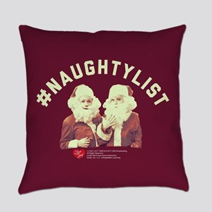 Lucy #NaughtyList Everyday Pillow