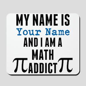 Math Addict Mousepad