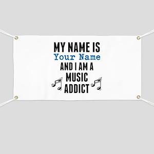 Music Addict Banner