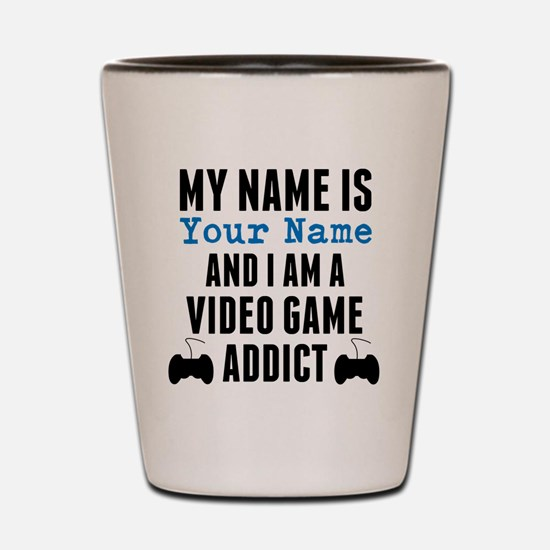 Video Game Addict Shot Glass