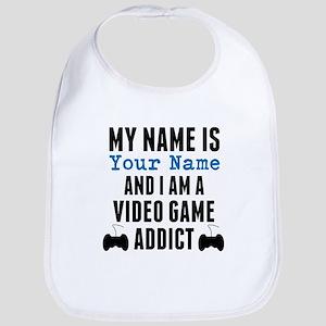 Video Game Addict Bib