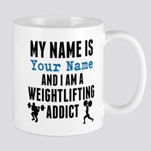 Weightlifting Addict Mugs