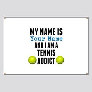 Tennis Addict Banner
