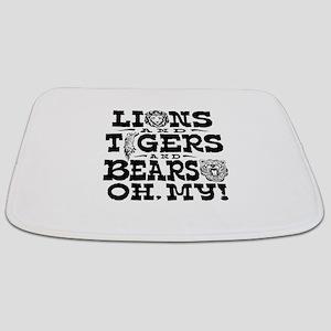 Lions Tigers Bears Bathmat