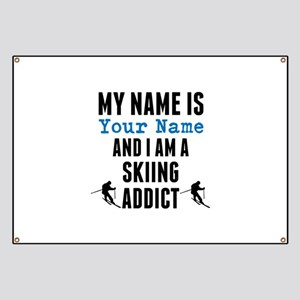 Skiing Addict Banner