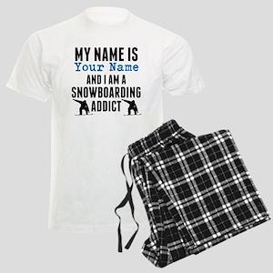 Snowboarding Addict Pajamas