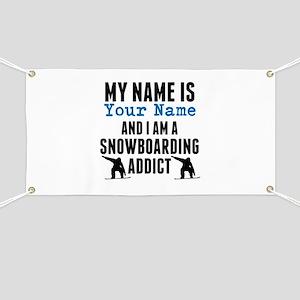 Snowboarding Addict Banner