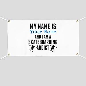 Skateboarding Addict Banner