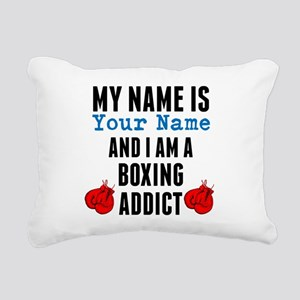 Boxing Addict Rectangular Canvas Pillow