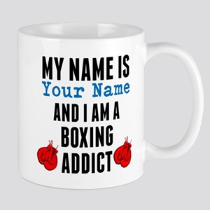 Boxing Addict Mugs