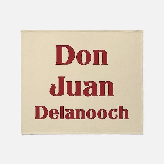 JAYSILENTBOB DON JUAN DELANOOCH Throw Blanket