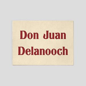JAYSILENTBOB DON JUAN DELANOOCH 5'x7'Area Rug