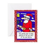 Christmas Writ Greeting Cards