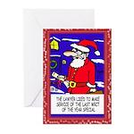 Christmas Writ Greeting Cards (10 Pk.)