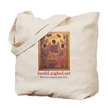 SarahLaughed.net Tote Bag