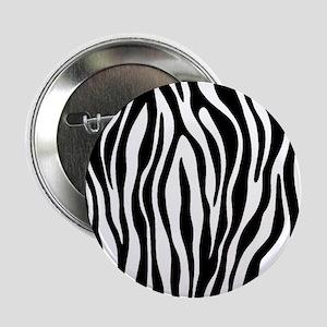 "Zebra Print 2.25"" Button (100 pack)"