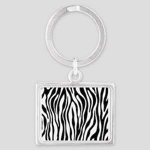 Zebra Print Keychains