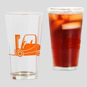 Forklift Truck Drinking Glass